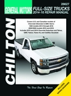 GM Full Size Trucks (Silverado, Sierra, Suburban, Tahoe) Manual: 2014-2016