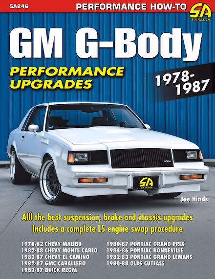 gm g body performance upgrades 1978 1987 free shipping rh themotorbookstore com G-Body Headers for Chevy Malibu G-Body Cars
