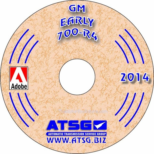 GM THM 700-R4 Transmission Repair Manual on CD 1982-1986