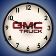 GMC Trucks Wall Clock, LED Lighted