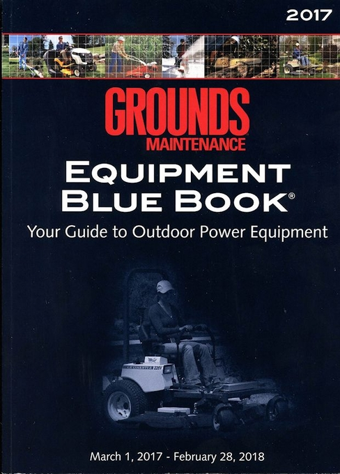 Grounds Mainteance Equipment Blue Book 2017