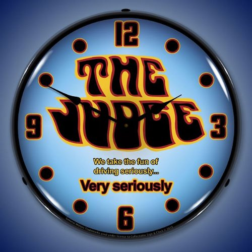 GTO The Judge LED Lighted Clock