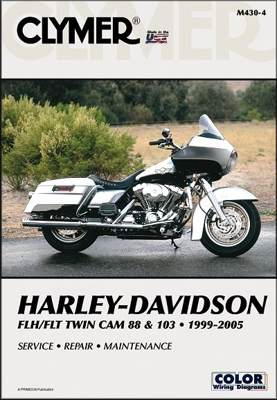 Harley-Davidson FLH, FLT Twin Cam 88 & 103 Repair Manual 1999-2005 on