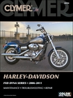 Harley-Davidson FXD Dyna Series Repair Manual 2006-2011