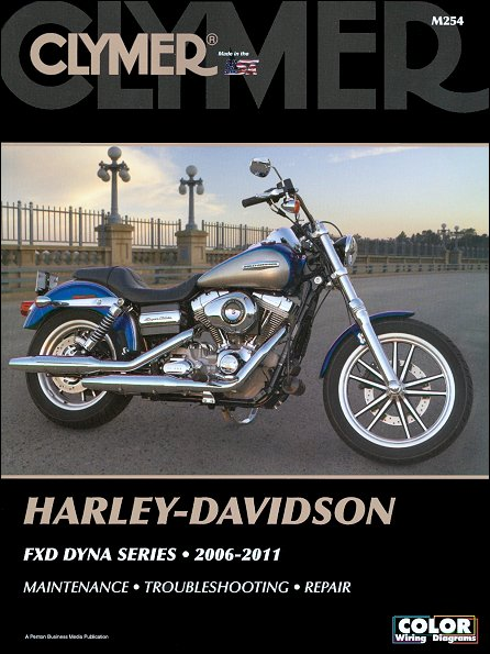 harley davidson fxd dyna series repair manual 2006 2011 clymer rh themotorbookstore com harley davidson motorcycle repair manuals free Harley-Davidson Motorcycles with Flames