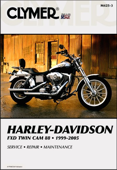 harley davidson fxd twin cam 88 repair manual 1999 2005 rh themotorbookstore com 2004 Harley Super Glide Harley FXD Specs