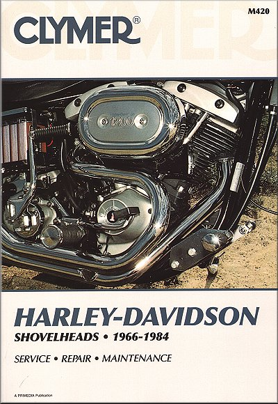 Harley-davidson Shovelhead Repair Manual 1966-1984