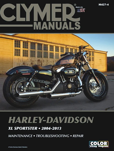 harley davidson sportster xl883 xl1200 repair manual 2004 2013 rh themotorbookstore com 2007 Harley-Davidson Sportster 1200 Low Red and Black Harley 1200 Low