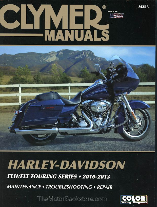 HarleyDavidson FLH FLT Touring Series Repair Manual 20102013