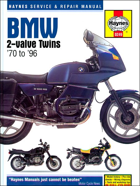 bmw 2 valve twins repair manual 1970 1996 rh themotorbookstore com