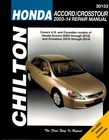 Honda Accord and Crosstour Repair Manual 2003-2014