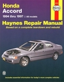 Honda Accord Repair Manual 1994-1997