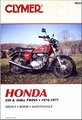 Honda CB250, CJ250, CB360, CL360, CJ360 Repair Manual 1974-1977
