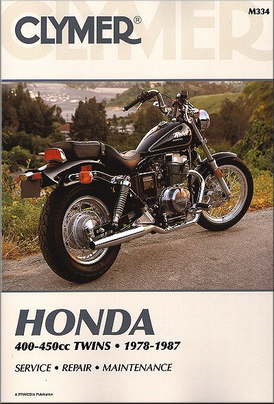 honda cb400 450 rebel nighthawk repair manual 1978 1987 rh themotorbookstore com Honda CBR1000RR Honda CB450