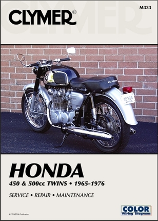 honda cb450 cl450 cb500 dohc twin repair manual 1965 1976 26 honda cb450, cb500, cl450 dohc repair manual 1965 1976 clymer 1972 cb450 wiring diagram at gsmx.co