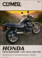 Honda CB750 Nighthawk Repair Manual 1991-1999