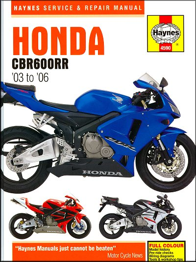 honda cbr600rr repair shop manual 2003 2006 haynes m4590 rh themotorbookstore com 2006 honda cbr600rr service manual free download 2006 honda cbr600rr service manual free download