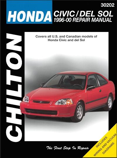 Honda Civic, Del Sol Repair Manual 1996-2000