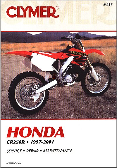 honda cr250r repair service manual 1997 2001 clymer m437 rh themotorbookstore com honda cr250r service manual free download honda cr250r service manual free download