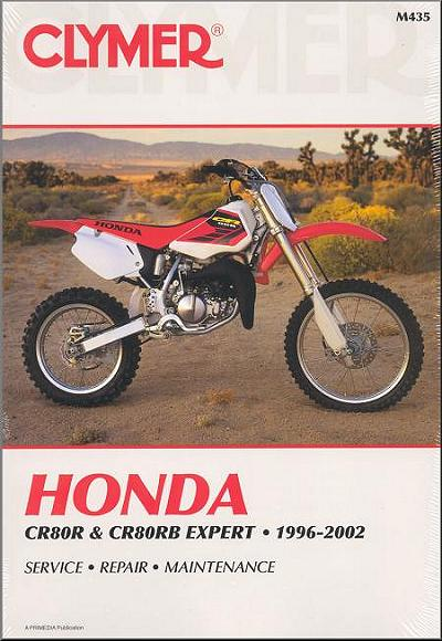 honda cr80r cr80rb expert repair manual 1996 2002 clymer rh themotorbookstore com Used Honda 70 Dirt Bikes Honda XR 70R