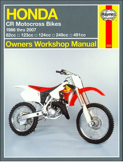 honda cr80 85r rb cr125r cr250r cr500r repair manual 1986 2007 rh themotorbookstore com