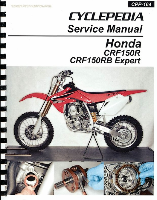 honda crf150r crf150rb expert service manual 2007 2016 rh themotorbookstore com honda crf 150 owners manual 2004 honda crf150f owners manual