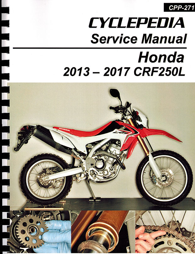 honda crf250l service manual 2013 2017. Black Bedroom Furniture Sets. Home Design Ideas