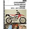 Honda CRF250L Service Manual: 2013-2017