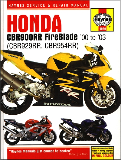 honda fireblade cbr900rr cbr929rr cbr954rr repair manual 2000 2003 27 honda cbr900rr, cbr929rr, cbr954rr fireblade repair manual 2000 2003 GM Fuel Pump Wiring Diagram at couponss.co