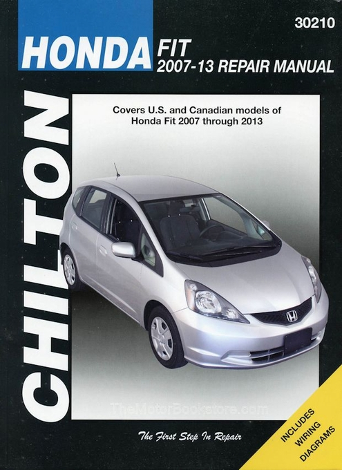 honda fit repair manual by chilton: 2007-2013