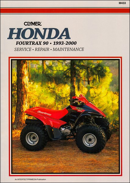 honda fourtrax 90 atv repair manual 1993 2000 clymer m433 rh themotorbookstore com 1989 honda fourtrax service manual honda fourtrax 250 service manual pdf
