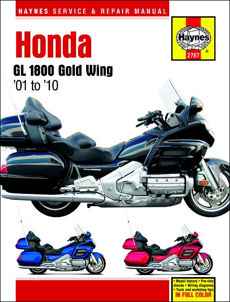 Honda Gl1800 Gold Wing Repair Manual 2001