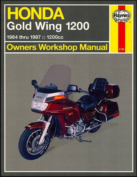 Honda Gold Wing GL1200 Repair Service Manual 1984-1987