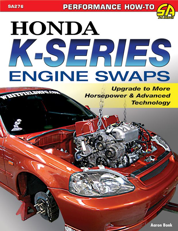 honda k series engine swaps performance how to book by cartech rh themotorbookstore com 1997 Honda Accord Manual Honda Accord Manual Transmission