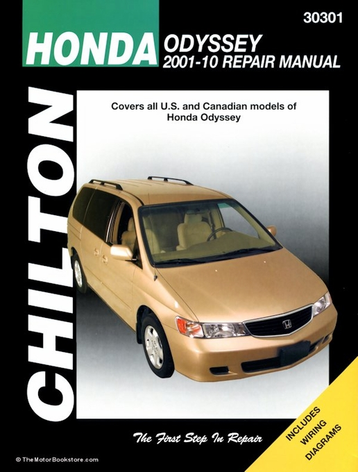 honda odyssey repair manual 2001 2010 chilton 30301 rh themotorbookstore com honda odyssey 2001 manual pdf 2001 honda odyssey manual transmission