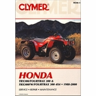 Honda TRX300 Fourtrax 300, TRX300FW 4x4 ATV Repair Manual 1988-2000