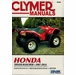 Honda TRX420 Rancher Repair Manual (2007-2014)