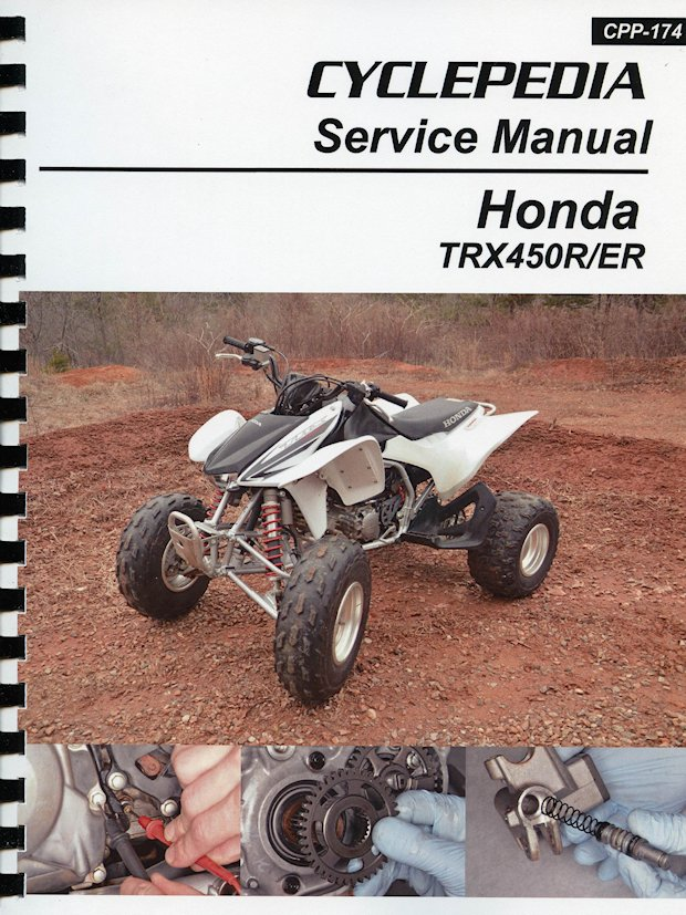 Honda Trx450r  Er Repair  U0026 Service Manual  2006