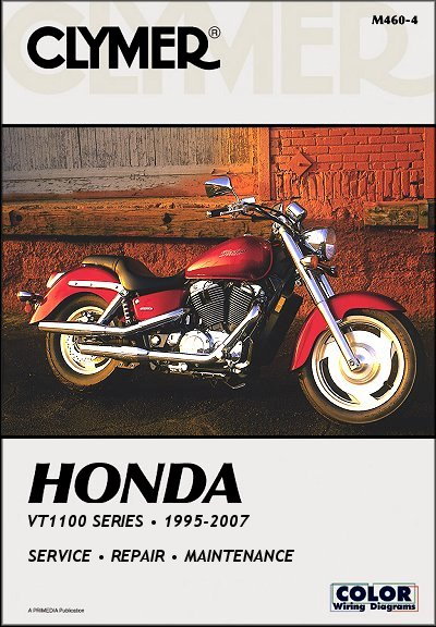 honda vt1100 shadow series repair manual 1995 2007 clymer rh themotorbookstore com 2007 honda shadow owners manual 2007 honda shadow 600 owners manual