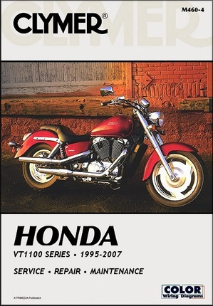 Honda VT1100 Shadow Series Repair Manual 1995-2007: Spirit, A.C.E., Sabre, Aero, ACE Tourer