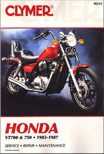 honda shadow vt700 vt750 repair manual 1983 1987 clymer rh themotorbookstore com 1983 honda shadow vt750 service manual 1983 honda shadow 750 service manual free download
