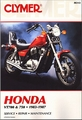 Honda VT700, VT750 Shadow Repair Manual 1983-1987