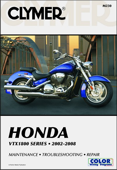 honda vtx1800 repair shop manual 2002 2008 clymer m230 rh themotorbookstore com 2005 honda vtx 1300 repair manual 2005 honda vtx 1300 service manual pdf