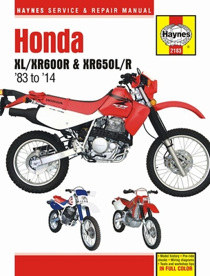 honda xl600r xr600r xr650l xr650r repair manual 1983 2014 12 honda xl600r xr600r, xr650l xr650r repair manual 1983 2014 haynes 1987 honda xl600r wiring diagram at gsmx.co