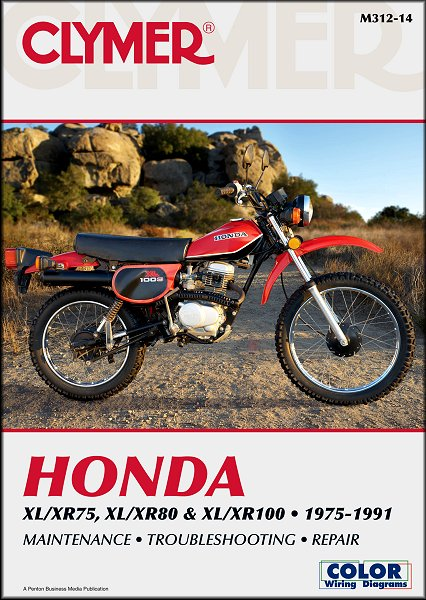 honda xl75 xr75 xl80 xr80 xl100 xr100 repair manual 1975 1991 rh themotorbookstore com xr100r user manual xr100r user manual