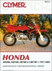 Honda XR50R, CRF50F, XR70R, CRF70F Repair Manual 1997-2009