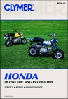 Honda Z50, C70, CL70, CT70, SL70, XL70, S90, SL90, ST90, CL90, CT90, CT110, Repair Manual 1965-1999
