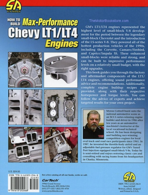 how to build a high performance lt1 engine
