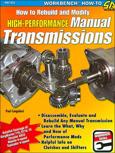 How to Build & Modify High-Performance Manual Transmissions
