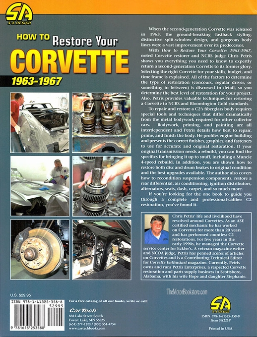 How To Restore Your Corvette 1963-1967
